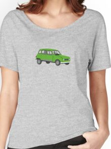 Renault 4 GTL Green Women's Relaxed Fit T-Shirt
