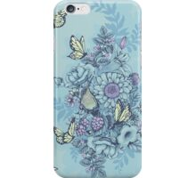 Beauty (eye of the beholder) - powder blue version iPhone Case/Skin