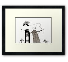 Angels of Connection Framed Print