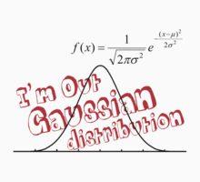 Gaussian distribution by brianthechem