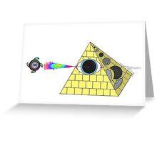 OG illuminati  Greeting Card