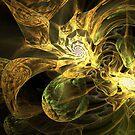 Fractals on Acid by Sandra Bauser Digital Art