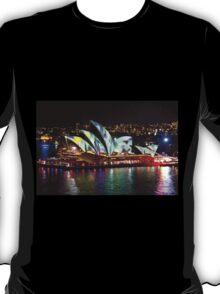 Vivid on the Opera House  T-Shirt