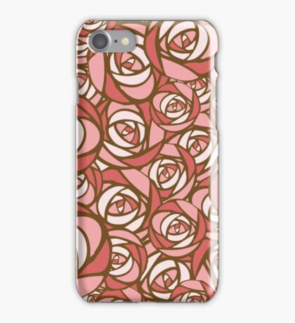 Roses pattern.  iPhone Case/Skin