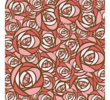 Roses pattern.  Photographic Print