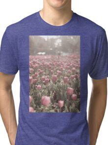 Field of Tulips  Tri-blend T-Shirt