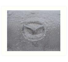 Cold Mazda Art Print