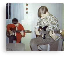 Gene & Ralphy Jammin' In '67 Canvas Print