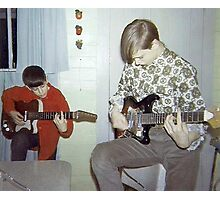 Gene & Ralphy Jammin' In '67 Photographic Print