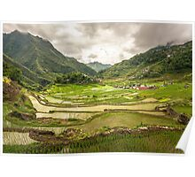 an awe-inspiring Philippines landscape Poster