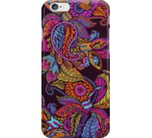 Paisley Dream - sunset iPhone Case/Skin
