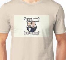 Adam and Joe: Stephen Card! 3 Unisex T-Shirt