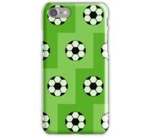 Football green pattern  iPhone Case/Skin