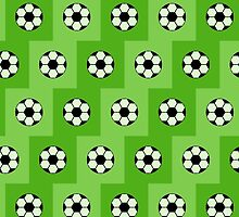 Football green pattern  by olgart