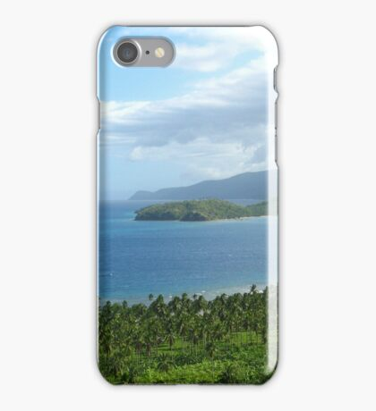a desolate Philippines landscape iPhone Case/Skin