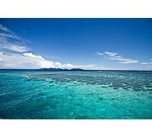 Fijian Ocean  Photographic Print