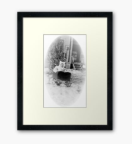 Sleigh 1951 Framed Print