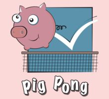 Pig Pong One Piece - Long Sleeve