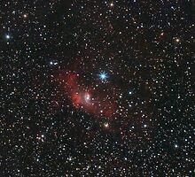 Red Bubble Nebula by Igor Chekalin