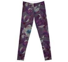 Magnolia Bloom - Midnight Leggings
