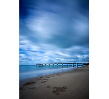 Storm at Torquay Jetty  Photographic Print