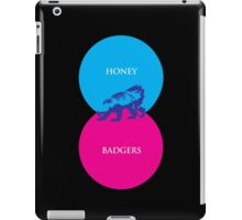 Honey Badger Venn Diagram iPad Case/Skin