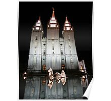 Salt Lake City Temple Poster