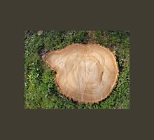 Fresh cut tree stump T-Shirt