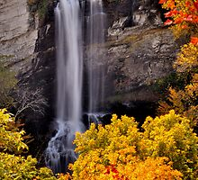 Autumn Befalling Raven Cliff 2 by Miles Moody