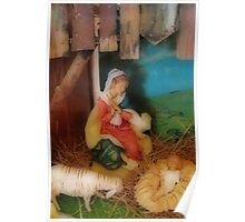 Away in a Manger Poster
