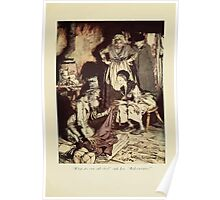 A Christmas Carol by Charles Dickens art by Arthur Rackham 1915 0157 What Do You Call This Poster