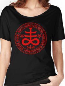 Hail Satan - Satanic Cross Women's Relaxed Fit T-Shirt