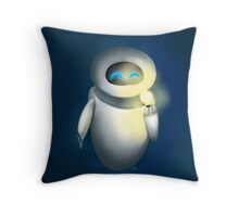 Eve and the Light Throw Pillow