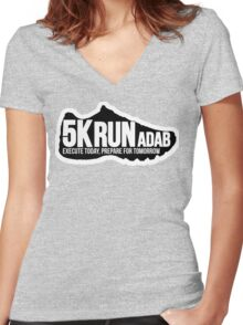 sports shoe Women's Fitted V-Neck T-Shirt