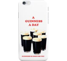 a pint a day iPhone Case/Skin