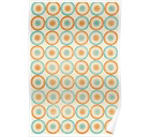 Colorful Circles II Poster