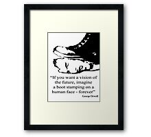 The future is bright.... Framed Print