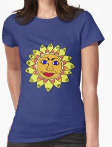 Miss Sunshine Womens Fitted T-Shirt