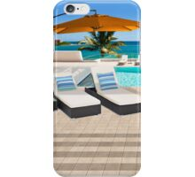 Indulgence postcard from the Seychelles iPhone Case/Skin
