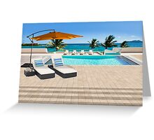 Indulgence postcard from the Seychelles Greeting Card