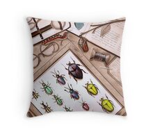 Insect Collector Throw Pillow