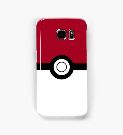 Pokeball 2D Design Samsung Galaxy Case/Skin