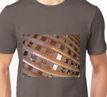 Wooden lattice closeup Unisex T-Shirt