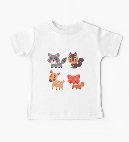 The Happy Forest Friend Baby Tee