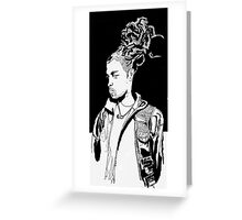 Dreads Greeting Card