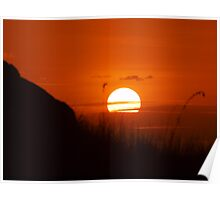 Sunset Charters Towers - North Queensland Poster