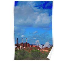 Aluminum Factory in Gladstone Poster