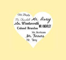 Jane Austen's Men by mrsthornton