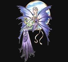 Lavendar Fairy with Dragon Unisex T-Shirt
