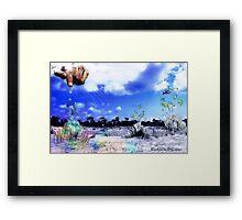 The Greatest Gardener Framed Print